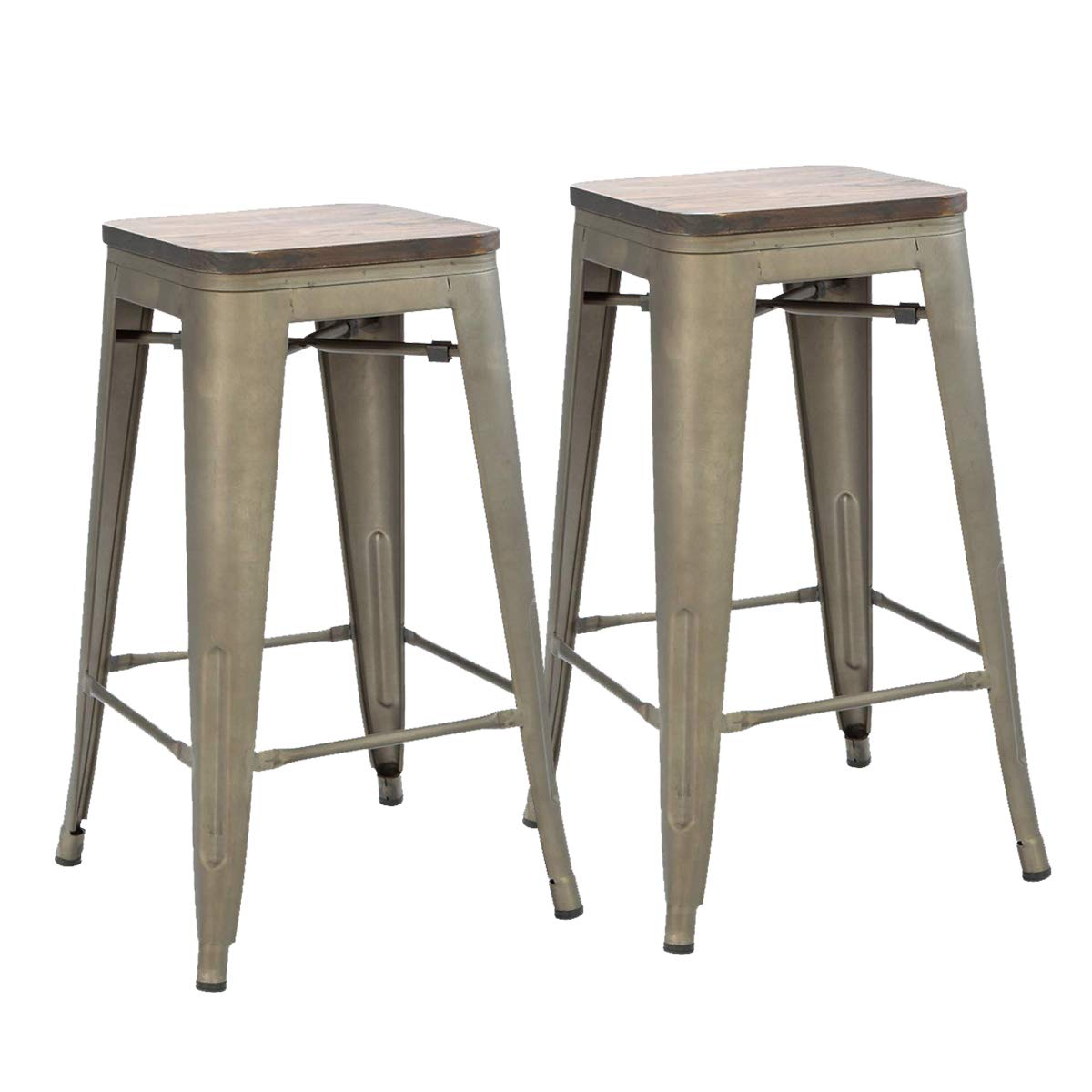 Erommy 26 Inch Bar Stools Counter Height Buy Online In Papua New Guinea At Desertcart