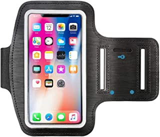 "Insten Outdoor Sports Running Armband with Key Holder for Apple iPhone 8/7/ 6S, Samsung Galaxy S5/ S4 (Up to 5.67"" x 3.14""..."