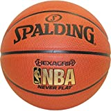 Spalding NeverFlat Soft Grip Indoor/Outdoor Basketball, 29.5-Inch by Spalding