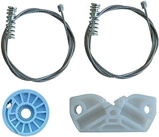LadaAuto WR02 Rear Right Passenger Side Quarter Window Regulator Repair Kit For W209 Mercedes Benz CLK320 CLK350 CLK500 CLK550 CLK55 CLK63 AMG Convertible Cabriolet 2096700203 209 670 02 03