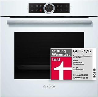 Bosch HBG675BW1 - Horno (Grande, Horno eléctrico, 71 L, 71 L, 30-300 °C, Pirolítico)