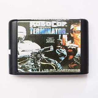 TopFor Robocop Versus Terminator 16 Bit Md Game Card For Sega Mega Drive For Genesis