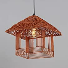 ZCdd Wall Lights Wall Lamp Iron Beige Brown Orange Simple Creative Bedroom Living Room Restaurant Study Chandelier/Ceiling...