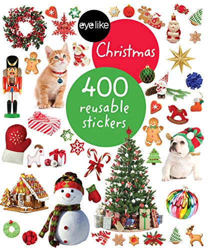 Eyelike Stickers: Christmas: 400 reusable stickers