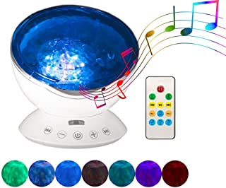 Nite Night Lite, Americas #1 Ocean Wave Projector & Night Light, Projector, Sound Machine | Neat Projector| Acts as White Noise Machine | Kids Night Light | Led Night Light & Music Player