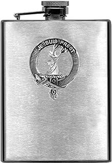 Fraser Scottish Clan Stainless Steel 8oz Flask