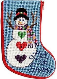 Needlepoint Christmas Stocking Kit.Amazon Com Stocking Kits Needlepoint Arts Crafts Sewing
