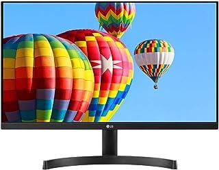 LG FHD 24MK600M 24 Inch Monitor IPS 3-Side Borderless Design (1920 x 1080), VGA, HDMI, 250 cd/m2, 5ms, Black