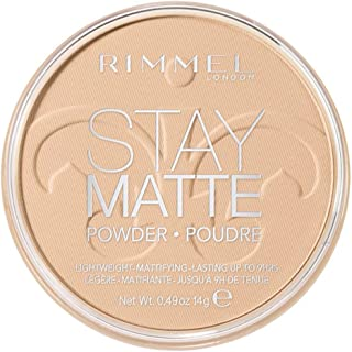 Rimmel London, Stay Matte Pressed Powder, 01 Transparent, 14 g