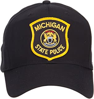 e4Hats.com Michigan State Police Patched Cap