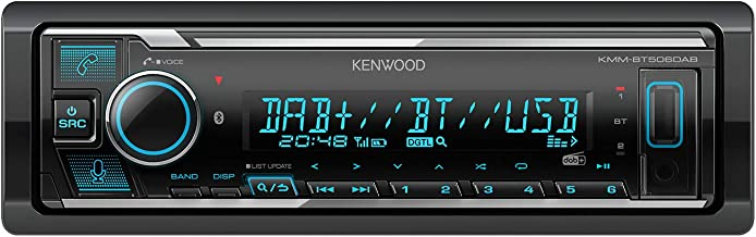 Kenwood KMM-BT506DAB USB-Autoradio mit DAB+ und Bluetooth Freisprecheinrichtung (komp. zu..