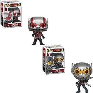 Funko Pop Marvel: Ant-Man & the Wasp 2-Pop! Bundle
