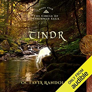Tindr     Book Five of The Circle of Ceridwen Saga              By:                                                                                                                                 Octavia Randolph                               Narrated by:                                                                                                                                 Nano Nagle                      Length: 13 hrs and 30 mins     215 ratings     Overall 4.6