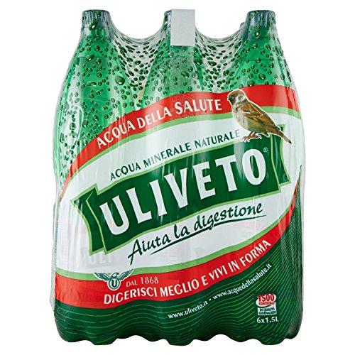 Uliveto Acqua Minerale Naturale, 6 x 1.5L