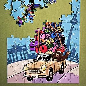 Berliner Weihnachtspuzzle – Versand als individuelles Geschenk möglich – Preis inkl. Lieferung – umweltfreundliche…