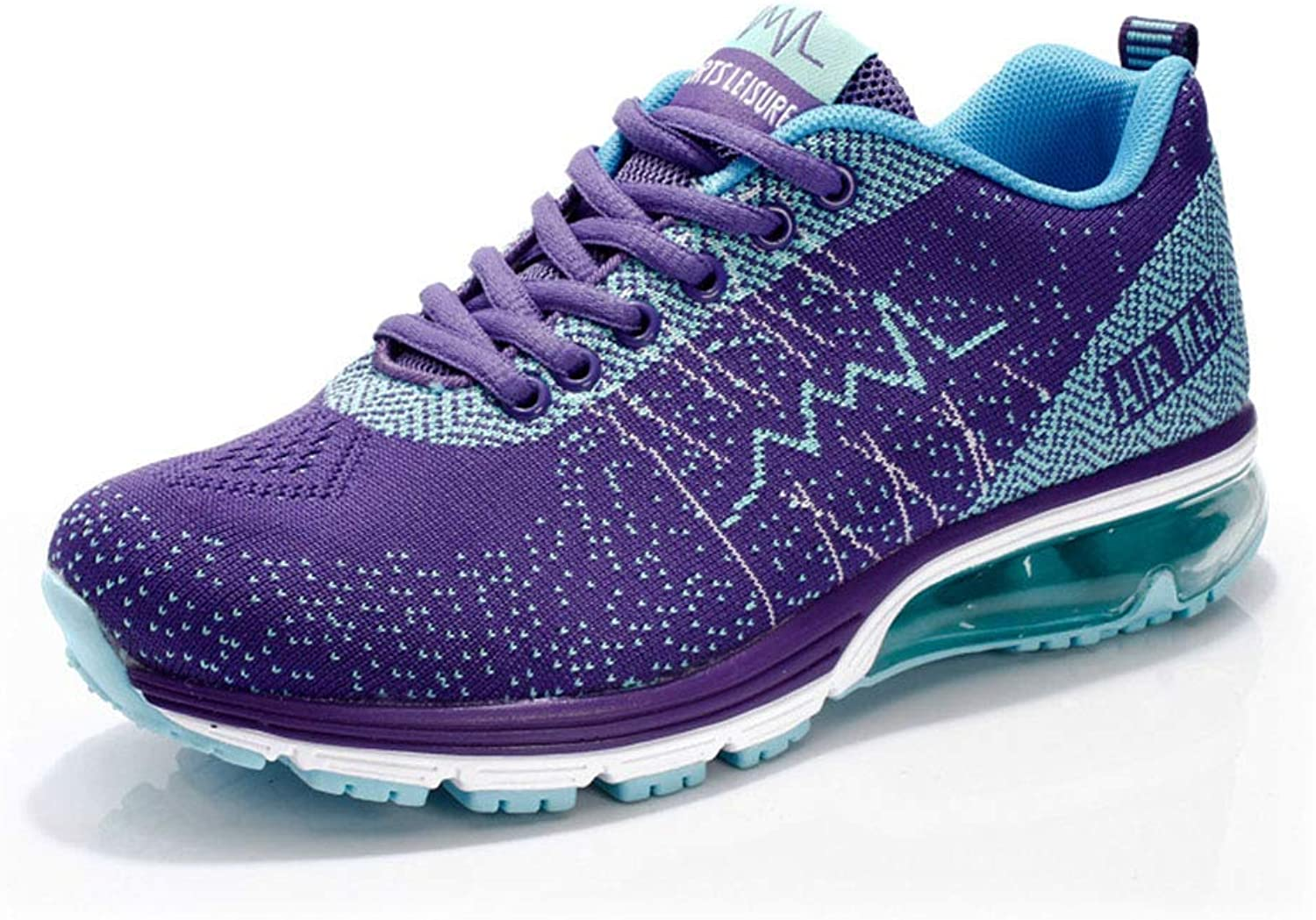 Dsx Trainers Sports shoes Spring and Summerbreathable Casual shoes Men's Running shoes (22.5-27.0Cm), purple, 42EU