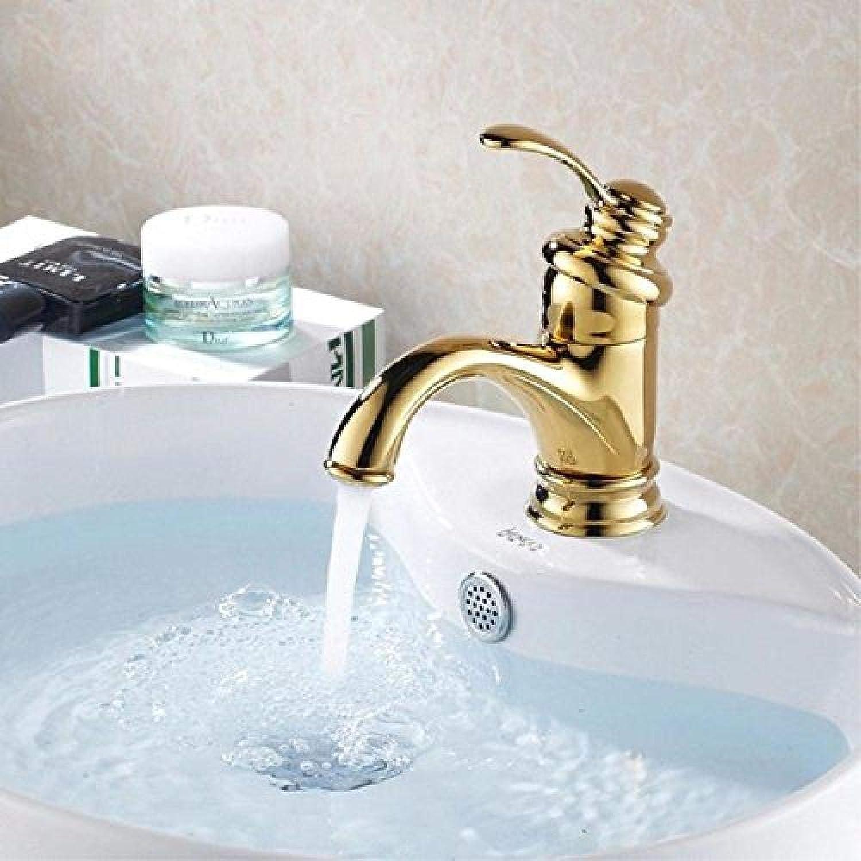 Waschtischarmaturen Goldene Moderne Deck Montiert Waschbecken Wasserhahn Waschbecken Einzigen Handgriff Heien und Kalten Wasserhahn