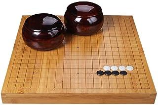 Luckyw Schackbräde Go Schackset för vuxna nybörjare barn