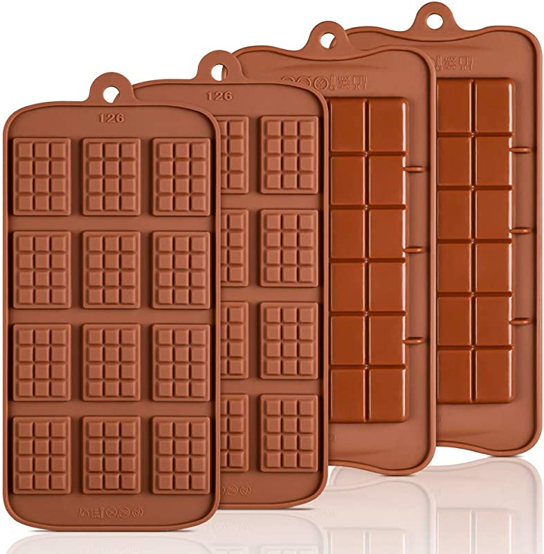 Silicone Break Apart Chocolate Molds Candy Protein And Engery Bar Silicone Mold