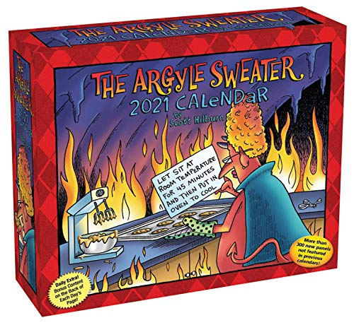 The Argyle Sweater 2021 Day-to-Day Calendar