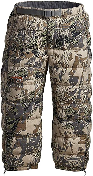Amazon.com: SITKA Gear Men's Kelvin Lite Down 3/4 Camo Insulated Warm Packable Hunting Pants : Clothing, Shoes & Jewelry