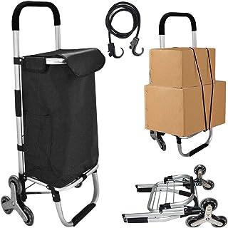 carrello portaspesa 6 ruote scale impermeabile pieghevole Saliscale,carrellino spesa con ruote,shopping trolley on wheels,...