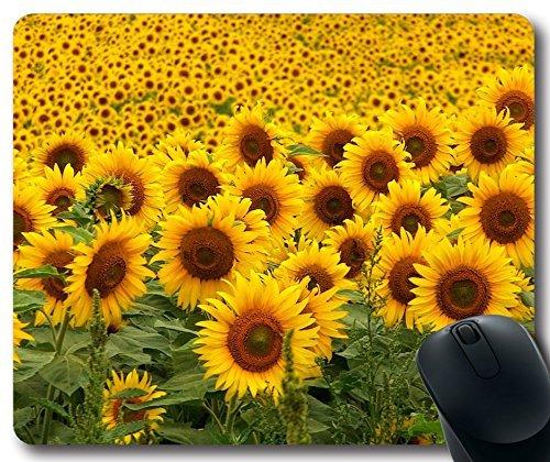 Mouse Pad Sunflowers Mousepad,Custom Rectangular