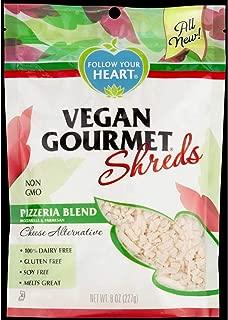 Follow Your Heart Vegan Pizzeria Blend Shreds, 8 Ounce -- 8 per case.