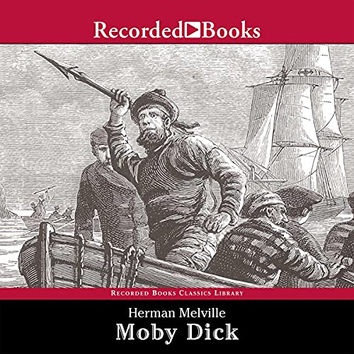 Moby-Dick Audiobook By Herman Melville cover art