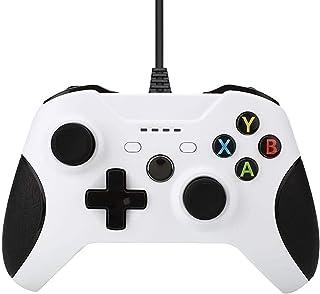 JINQII Consoles com fio para Xbox One Controller Gamepads para Xbox One Compatível com Xbox One/S/X/PC Windows 7/8/10 com ...