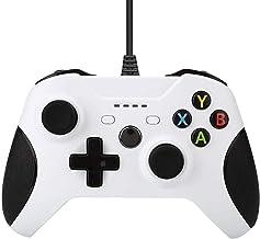 QiaoJia Consoles com fio USB para controle Xbox One Gamepads para Xbox One Slim Control PC Windows Mando Joystick