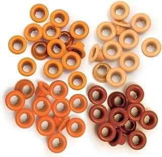 We R Memory Keepers 41574-9 Œillets pour Scrapbooking, de Couleur Orange, Format Standard