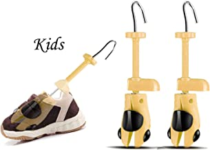 Valentoria Black Deals Friday Cyber Deals Monday Sales Offer-Shoe Stretcher for Kids fit for 7-15 Years Old Chidren,2-Way Shoe Stretcher Stretches Length Width Gifts for Kids (U Yellow, Kids)