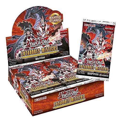 Yu-Gi-Oh! Booster Box - Lutadores Místicos