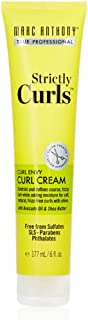 Marc Anthony Strictly Curls Perfect Curl Cream 6oz (Boxed) (3 Pack)
