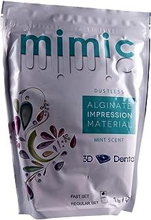 3D Dental AF Mimic Alginate Impression Material, Fast Set, 1 lb.