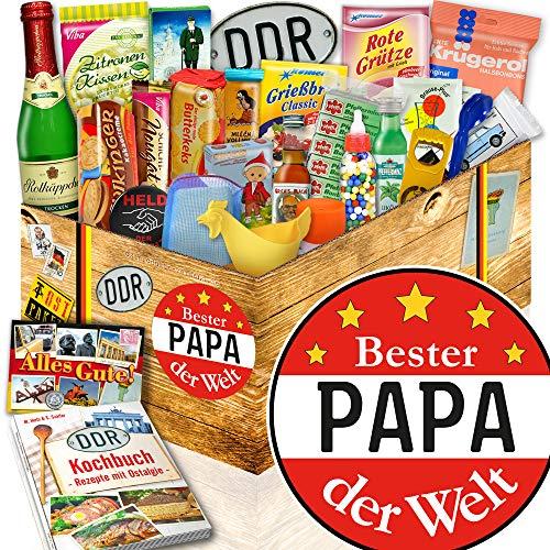 DDR Geschenkset 24 tlg. / Geschenke für Papa / Bester Papa der Welt / DDR Waren