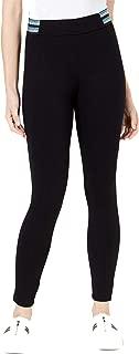 Bar III Women's Metallic-Stripe Varsity Leggings