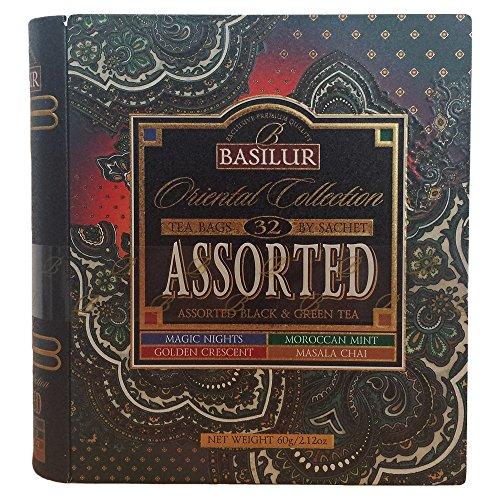 Basilur Tea Book Oriental Collection Tee Set Geschenkset Geschenkideen Teebuch