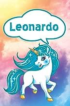 Leonardo: Unicorn Blank Comic Book Notebook Journal book 120 pages 6