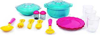 Giggles - Dinnerware Set , 23 Colourful Pretend and Play Cooking Set , Language and Social Skills,Role Play , 3 Years & Ab...