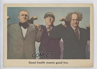 Good health means good fun. COMC REVIEWED Good to VG-EX (Trading Card) 1959 Fleer The 3 Stooges - [Base] #78