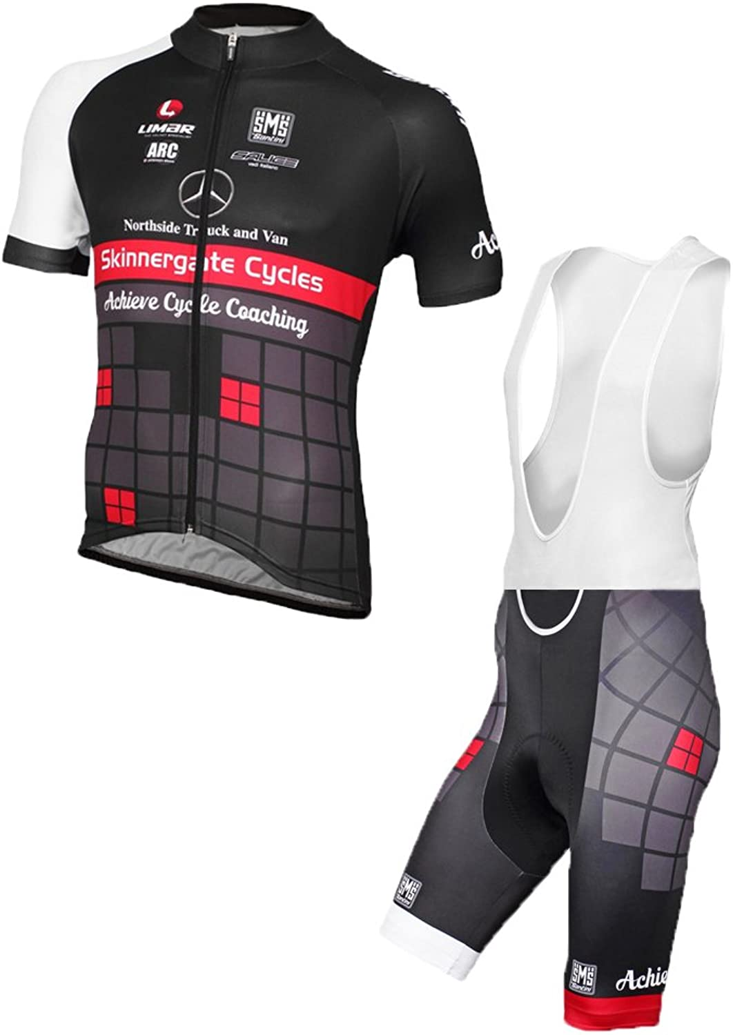 Men's Cycling Jersey Mountain Bike Accessories Bicycle Shirts for Men Tight Short Sleeve Suit