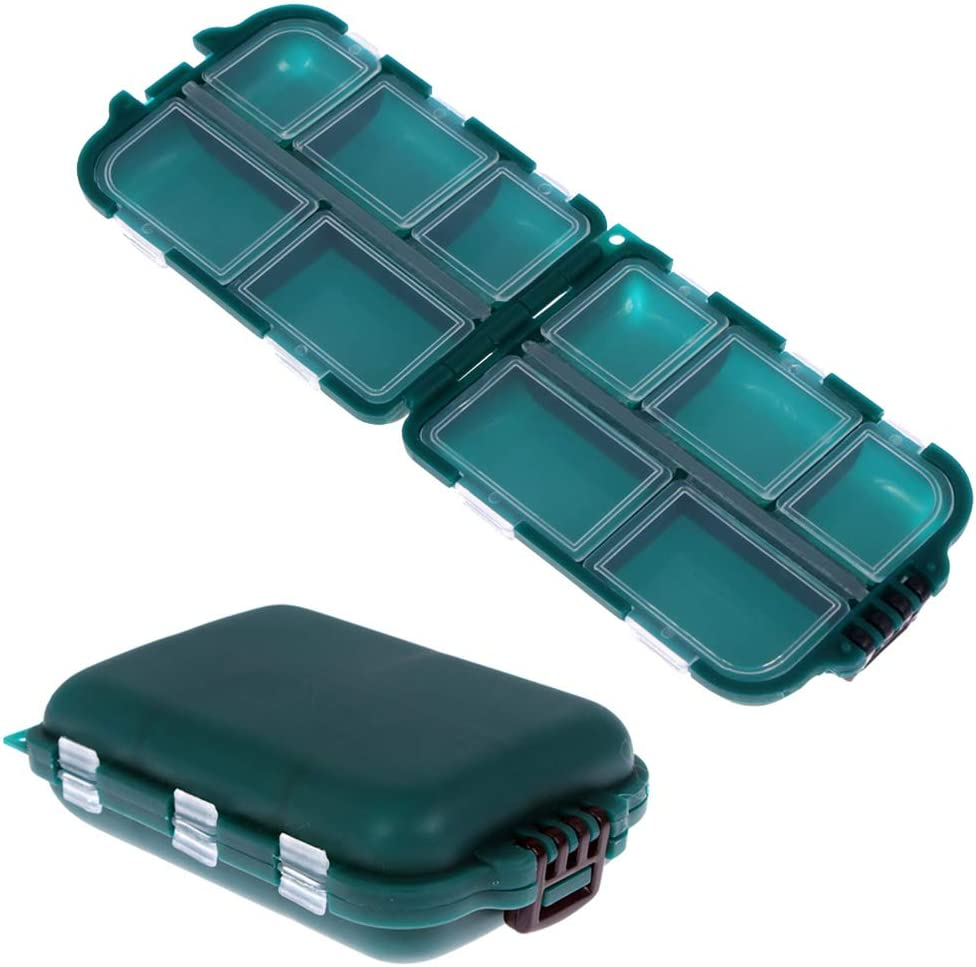 NUOMI 2 Special price Packs Fishing Nashville-Davidson Mall Plastic Box Storage Boxes Portable Tackle