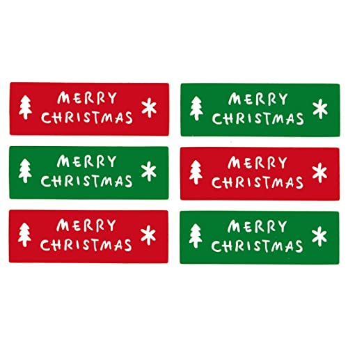 Paper House Productions STCX-0205E Merry Christmas Cardstock Stickers 5 6 Pack