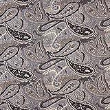Fabulous Fabrics Jacquard Jersey Cloqué Paisley –