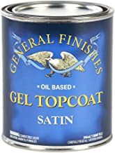 General Finishes SQ Oil Based Gel Topcoat, 1 Quart, Satin