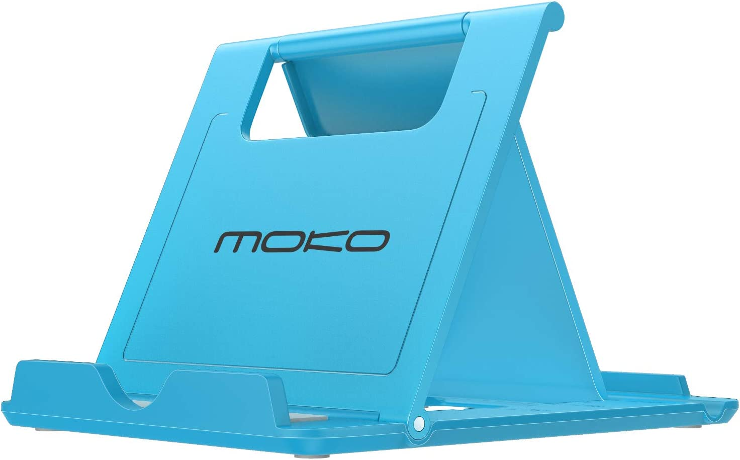 MoKo Phone/Tablet Stand, Foldable Desktop Holder Fit with iPhone 11 Pro Max/11 Pro/11, iPhone Xs/Xs Max/Xr/X, iPhone SE 2020, iPad Pro 11 2020/10.2/Air 3/Mini 5, Galaxy S20 6.2