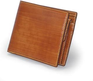 日本製 柿渋塗り 小銭付札入れ(二つ折り財布) SIB-2