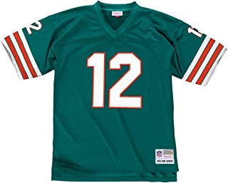 Mitchell & Ness Bob Griese 1972 Miami Dolphins Home Aqua Legacy Jersey Men's